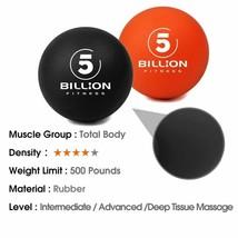 Trigger Points Massage Ball Myofascial Release Deep Tissue Self-Massage Lacrosse - $23.74