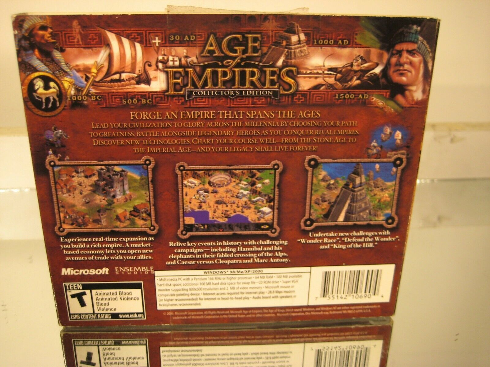 Age of Empires Collectors' Edition 2000 PC CDROM RTS Game image 2