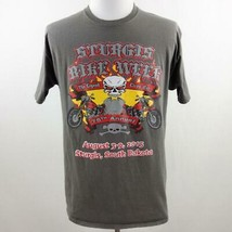 Sturgis 75th Annual Bike Week Graphic T Shirt Mens Sz L - $28.93