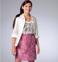McCall Pattern Company M6830 Children's/Girls' Skirts Sewing Template, Size CCE - $11.76