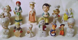 Vintage Ceramic  & China Collectible Figurines made in Japan - $15.00