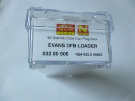 Micro-Trains Stock #03200500 Evans DFB Loader 50' Standard Box Car N-Scale image 3