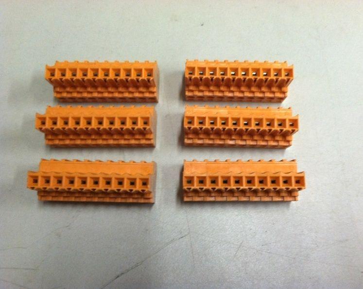 NE VINYL RING CONNECTOR *10pc//PACK* PANDUIT PV6-10RX #10 TERMINAL CONNECTORS