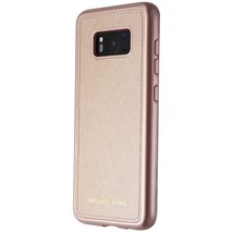 Michael Kors Snap-On Leather Case for Samsung Galaxy S8 - Rose Gold - ₹2,269.14 INR