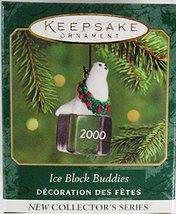 Ice Block Buddies #1 - 2000 Hallmark Ornament QXM6011 - $4.95