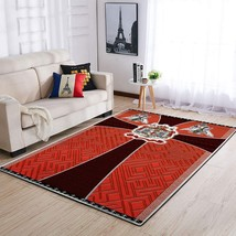 Knight Templars Area Rug, Knight Rug Home Deco - $69.99+