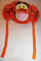 Tigger Plush Hat Disneyland Paris Size Toddler Child Pooh Disney Tiger C... - $29.65