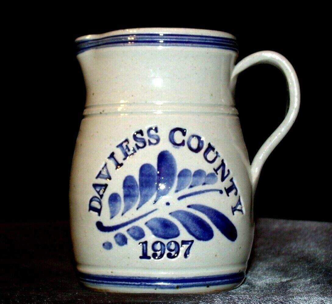 1997 Daviess County Westerwald Pottery/Stoneware Pitcher AA-191826 (1 Piece )