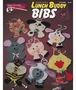 Lunch Buddy Bibs Crochet Piglet Cow Lamb Bee Kitten Mouse Puppy Duck Kid... - $25.69