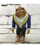 """Vintage 90's Disney Beauty And The Beast 4.5"""" Posable Action Figure Toy  - $11.88"""