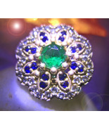 HAUNTED RING ALL THE MASTERS UNENDING RICHES WEALTH EXTREME MAGICK 7 SCH... - $303.77