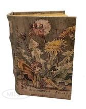Fairy Book Box Leather Over Wood Secret Storage Box Fairy Keepsake Girl'... - €20,03 EUR