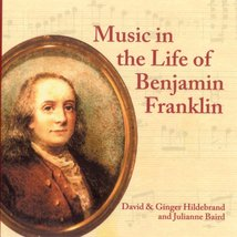 Music in the Life of Benjamin Franklin [Audio CD] - $10.40