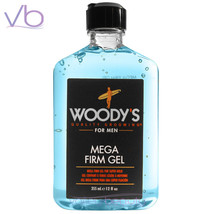 WOODY'S Quality Grooming For Men Mega Firm Gel 335ml - Super Hold, Made in USA - $14.30