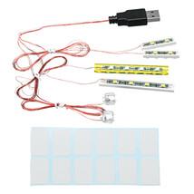 Mini DIY LED Flash Light Kit For Lego 21310 Fishing Store Building Block... - $17.81