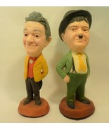 Esco Chalkware Laurel and Hardy Statue Rendition  - $218.40