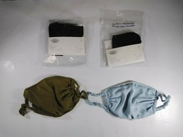 4 A New Day Reusable S/M Fabric Mask Lot: 2 Black in Packaging, 1 Green,... - $6.90