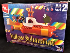 1999 Amt Ertl The Beatles Yellow Submarine Vintage Plastic Model Kit - $24.00