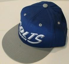 NWT NFL Team Apparel Baseball Hat - Indianapolis Colts Plastic Snapback Closure - $17.99