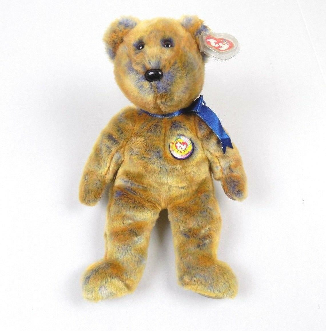 TY Beanie Baby Clubby 3 the Bear Plush collectible toy DOB 06 30 2000 -   8.59 733786a99290