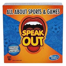 Hasbro Gaming Speak Out Expansion Pack: All About Sports and Games - $14.99