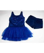 CURTAIN CALL COSTUMES ADULT LARGE ALA NAVY BLUE HEAVENLY  DANCE RECITAL ... - $19.79
