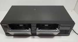 Technics Stereo Double Cassette Deck RS-T18...Tested image 2