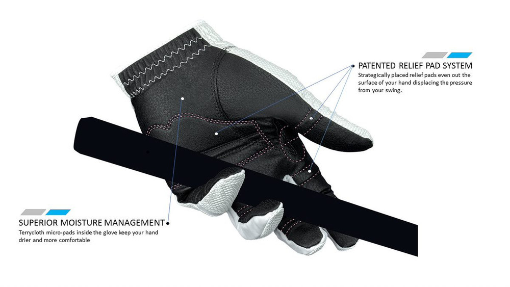 Bionic RelaxGrip 2.0 Golf Glove Mens, All Sizes Available NEW FOR 2019