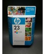 Genuine HP 23 C1823D Tri-Color Ink Cartridge DeskJet 1120 OfficeJet Oct 2009 - $5.99