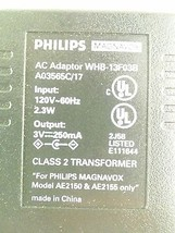 Philips WHB-13F03B AC Power Supply Charger Adapter 3V 250mA - $20.82