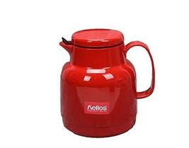 Helios Double Vacuum Glass Water Tea Strainer Filter Pot Kettle 1L 33.8oz 1Quart
