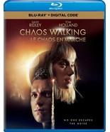 Chaos Walking BLU-RAY + SLIPCOVER +DIGITAL CANADA - 2021 Tom Holland -Br... - $19.75
