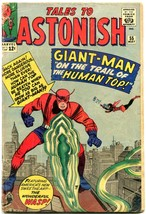 TALES TO ASTONISH #55-1964-GIANT-MAN-MARVEL SILVER-AGE--reading copy - $27.32