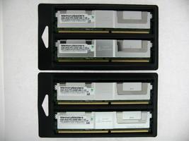 NMD517A21207FD53I5HC 16GB 4x4GB DDR2 PC2-5300F ECC REGISTERED FB-DIMM 4RX8 - $148.49