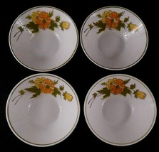 """Mikasa 5.25"""" Focus Shaped Bowls Set of 4 Ponte Vedra 2020-M Made in Japan - $19.79"""