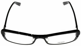 LATEST Fendi F728 007 Prescription Eyeglasses Frame Women's  Black Rectangular - $177.21
