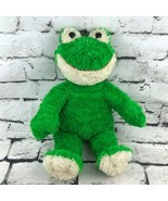 Build-A-Bear Workshop Happy Frog Plush Green Smiling Stuffed Animal Soft... - $19.79