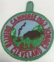1963 BSA Cleveland Council Camporee Embroidered Patch Boy Scouts - $16.65