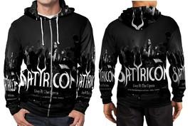 Satyricon Live At The Opera Hoodie Zipper Fullprint Men - $46.80