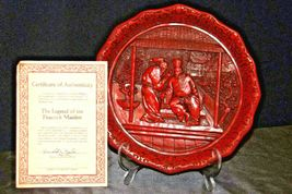 """The Betrayal""""  Commemorative Plate by The Ming Dynasty AA20-CP2335 Vintage Calho image 3"""