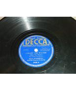 """Ella Fitzgerald 10"""" 78 RPM2628 Decca Plays well Thats All Brother; I Wan... - $8.94"""