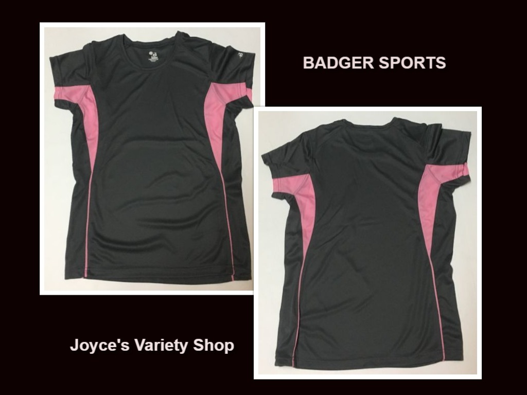 Badger sports womens shirt collage