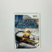 Blazing Angels: Squadrons of WWII (Nintendo Wii, 2007) Tested Works - $5.86
