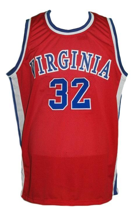 Julius erving  32 virginia squires aba basketball jersey red   1