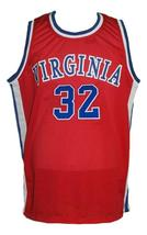 Julius Erving #32 Virginia Squires Aba Retro Basketball Jersey New Red Any Size image 1