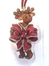 "Boyds Critter & Co Ornament ""MONICA KISSMOOSE"" #25005 -New- 2002 - $29.99"