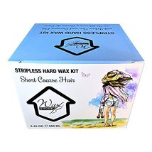 Wax at Home Microwavable White Tea Stripless Wax Kit 8.45 Oz. by Wax Necessities image 2