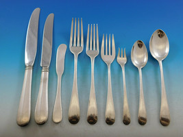 French Colonial Engraved Blackinton Sterling Silver Flatware Set Service... - $3,915.00
