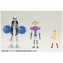 Newborn Casshan Artillery & Surveillance Robot & Kozuki Luna Plastic Model - $87.02