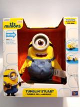 New Minions Tumblin' Stuart Talks, Laughs, Tumbles & Farts Action Plush ... - $34.00